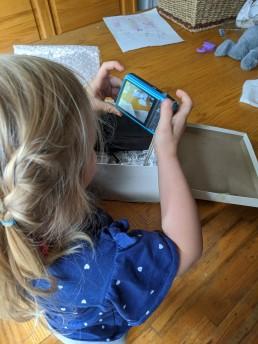 Cameras for Kids - 7 y.o. - Her camera - HeartWork