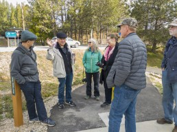 Volunteer Photography Training - Wolf Creek Trail - Northstar Mining Museum - Bob, David, Sue, Yasha, Rick, Larry - Copyright 2020 HeartWork Photography