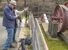 Volunteer Photography Training - Wolf Creek Trail - Northstar Mining Museum - David, Larry and Bob - Copyright 2020 HeartWork Photography