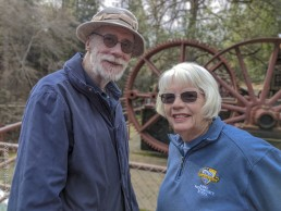 Volunteer Photography Training - Wolf Creek Trail - Northstar Mining Museum - Gold Mining Equipment - Larry & Judith - Copyright 2020 HeartWork Photography